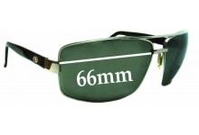 Sunglass Fix New Replacement Lenses for Electric Ohm - 66mm Wide