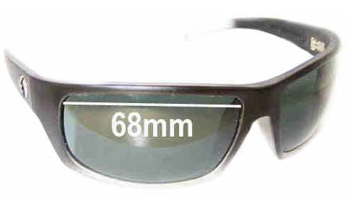 Sunglass Fix Replacement Lenses for Electric Tech XL - 68mm Wide