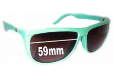 Sunglass Fix New Replacement Lenses for Electric Tonette - 59mm Wide