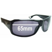 d320df5ea5309 Sunglass Fix New Replacement Lenses for EMPORIO ARMANI 9481 S - 65mm Wide