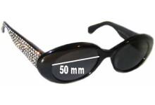 Escada E1005 Replacement Sunglass Lenses - 50mm Wide