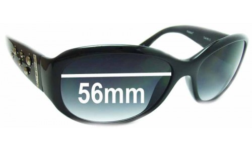 Fossil Mallory Replacement Sunglass Lenses - 56mm wide