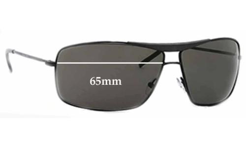 Giorgio Armani GA 140/S Replacement Sunglass Lenses - 65mm wide