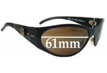 Grateful Dead Dark Star Replacement Sunglass Lenses - 61mm Wide