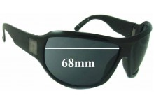 Gucci GG1562S Replacement Sunglass Lenses - 68mm wide