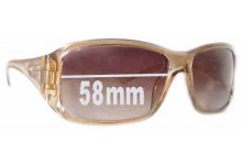 Gucci GG2550/S Replacement Sunglass Lenses - 58mm wide