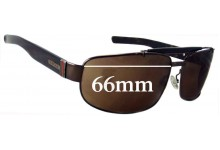 Gucci GG1844/S Square Aviator Replacement Sunglass Lenses - 66mm wide