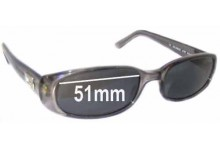 Gucci GG2452 Replacement Sunglass Lenses - 51mm wide