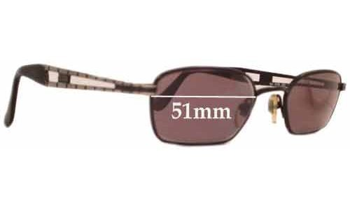 Guess Glasses Frame Replacement Parts : Guess GU5036 Replacement Sunglass Lenses - 51mm wide