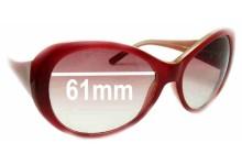 Guess GU6208 Replacement Sunglass Lenses - 61mm