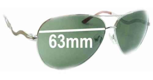 Guess Glasses Frame Replacement Parts : Guess GU7021 Replacement Sunglass Lenses - 63mm wide
