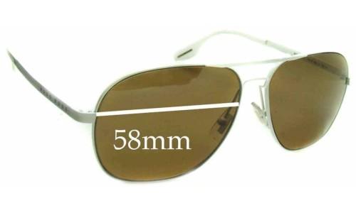 Hugo Boss 0293S Replacement Sunglass Lenses - 58mm wide