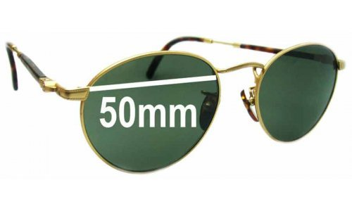 Hugo Boss 4752 Replacement Sunglass Lenses - 50mm wide