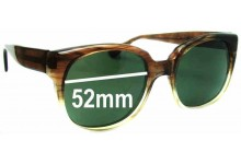 J Cooper 145 JFM Replacement Sunglass Lenses - 52mm Wide