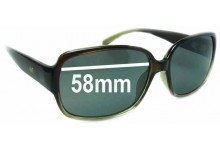 JAG 6086 Replacement Sunglass Lenses - 58mm wide