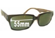 Joseph Marc JM4035 Replacement Sunglass Lenses - 55mm Wide