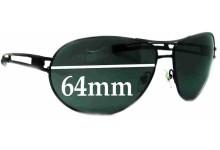 Killer Loop KL3194 Replacement Sunglass Lenses - 64mm wide