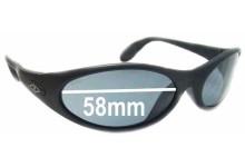 Killer Loop The Fix K1110 Replacement Sunglass Lenses - 58mm wide