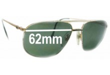 Lacoste Classic 121a Replacement Sunglass Lenses - 62mm wide
