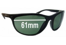 Mako Easy Rider 9319 Replacement Sunglass Lenses - 61mm wide