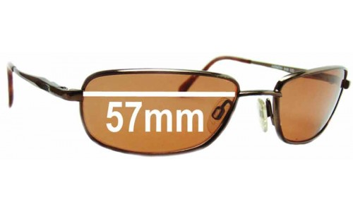Mako Harmony 9436 Replacement Sunglass Lenses - 57mm wide