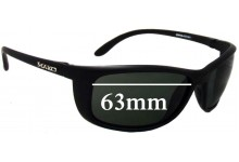 Mako Blade 9569 Replacement Sunglass Lenses - 63mm Wide