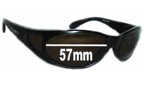 Mako Mercury 9417 New Sunglass Lenses - 57mm Wide
