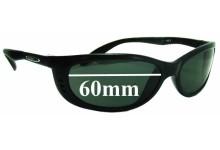 Mako Sleek 9371 Replacement Sunglass Lenses - 60mm