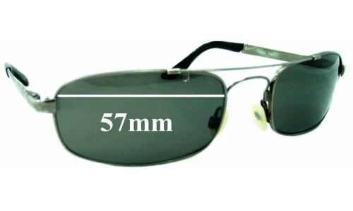 Mako Twist 9442 New Sunglass Lenses - 57mm Wide
