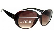 MARC BY MARC JACOBS MMJ 150S Replacement Sunglass Lenses - 57mm Wide