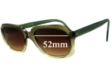 Martin Wells Saturn 2000 Replacement Sunglass Lenses - 52mm wide