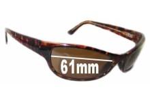 Maui Jim MJ127 Replacement Sunglass Lenses - 61mm Wide