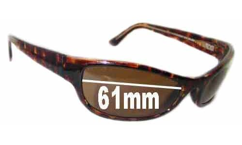 Maui Jim MJ127 New Sunglass Lenses - 61mm Wide