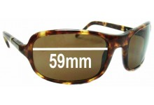 Michael Kors M2607S Replacement Sunglass Lenses - 59mm wide