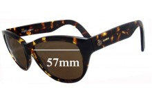 Mimco SF 007096 Catfurther New Sunglass Lenses - 57mm wide