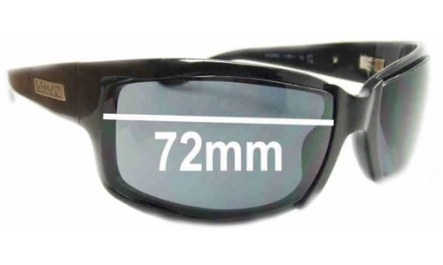 Missoni MI52901 Replacement Sunglass Lenses - 72mm wide