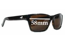 Modern Amusement 30's Replacement Sunglass Lenses - 58MM wide