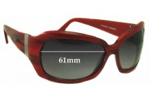 Oroton Jackie Oh Baby Replacement Sunglass Lenses - 61mm Wide
