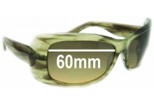 Morrissey Chic Replacement Sunglass Lenses - 60mm Wide