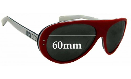 Sunglass Fix Replacement Lenses for Nike Vintage 76 EVO601 - 60mm wide