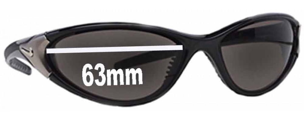 db1f5290ca68 Nike Roll Replacement Lenses 63mm by The Sunglass Fix™
