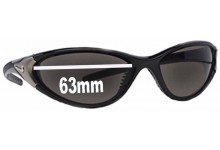 Nike Roll Replacement Sunglass Lenses - 63mm Wide