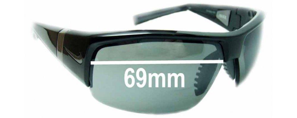 1a5e78e3af2b Nike SQ EV0560-EV0561 Replacement Lenses 63mm by The Sunglass Fix™