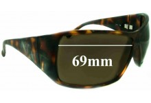 Nuovo Emporio CO_ 558 Replacement Sunglass Lenses - 69mm wide