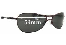 6cdf189950 Sunglass Fix Replacement Lenses for Oakley Crosshair S Womens - 59mm wide