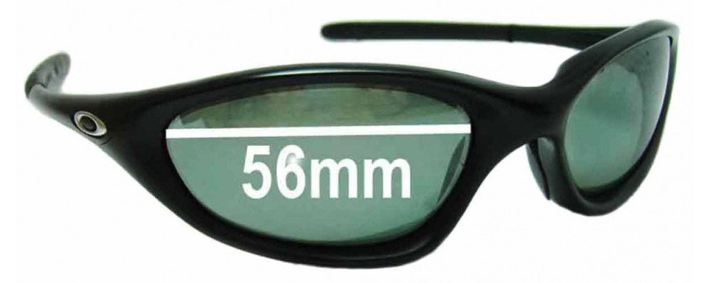 Oakley Twenty XX Replacement Sunglass Lenses - 56-57mm wide