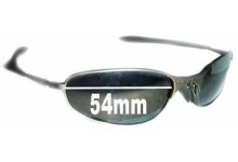 Oakley A-Wire 1.0 Replacement Sunglass Lenses - 54mm Wide - awire a wire - Please see arms for difference