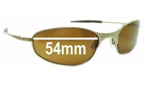 Oakley A-Wire 2.0 Replacement Sunglass Lenses - 54mm Wide