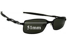 Oakley Coilover Replacement Sunglass Lenses - 51mm wide