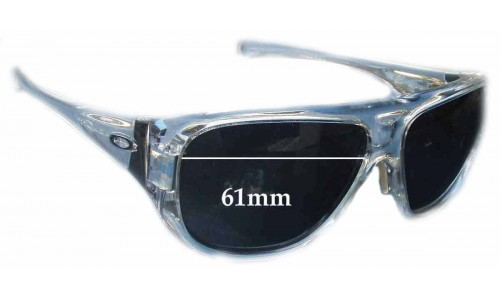 Oakley Correspondent Replacement Sunglass Lenses - 61mm Wide